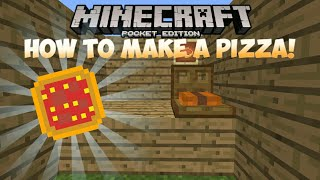 HOW TO MAKE A PIZZA BOX!! | Minecraft Pocket Edition 1.1 Creation