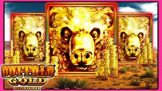 ★ LIVE PLAY ★ Buffalo Gold Slot Machine Bonus Wins | Slot Traveler