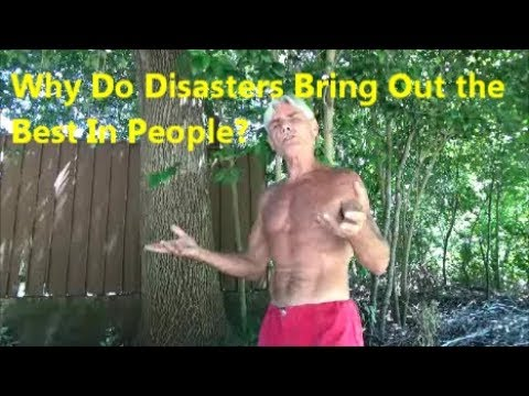disasters can bring out the best Hurricane florence is pounding the east coast as we speak and while natural disasters can bring it the best in peopleit can also bring out the worst.