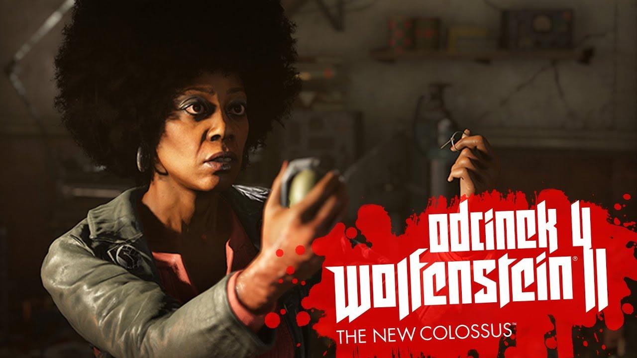 Zagrajmy w Wolfenstein II The New Colossus #4 – STRASZĄ MNIE W METRZE! – PC