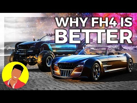 Forza Horizon 3 ISN'T BETTER THAN Horizon 4 thumbnail