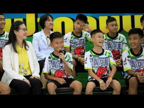 Guttene fra Thailand snakker ut om tida i grotta