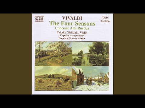 The Four Seasons, Violin Concerto in F Minor, Op. 8 No. 4, RV 297