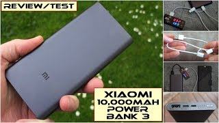 Xiaomi Mi Power Bank 3 (10,000mAh): Review/Test