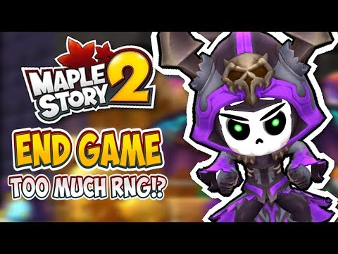 MAPLESTORY 2 END GAME IS TOO RANDOM FOR ME