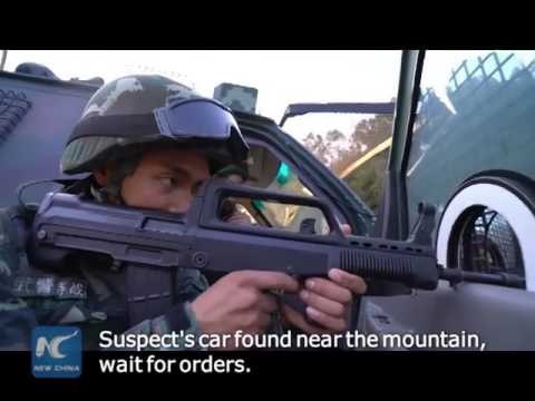 Anti-terror drills in SE China