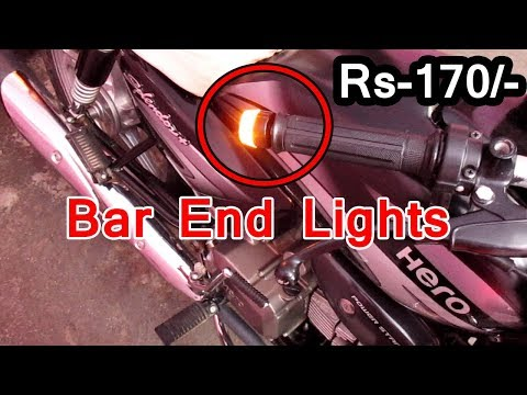 bar end lights