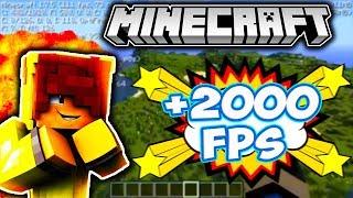 ÇOK KÖTÜ PC'DE BİLE Minecraft'da +2000 FPS ALMA !  TÜRKİYE'DE İLK !!!