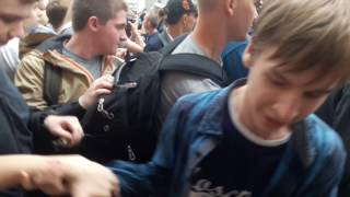 Митинг на Тверской в Москве. Видео из эпицентра. 12 июня. ОМОН.