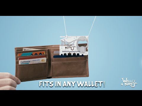 Wallet Ninja®- 100% Customizable Multi-Tool (Promo Gifts, Trade-Show Giveaways, Business Cards)