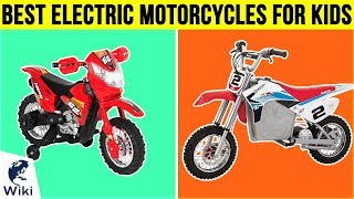 10 Best Electric Motorcycles For Kids 2018