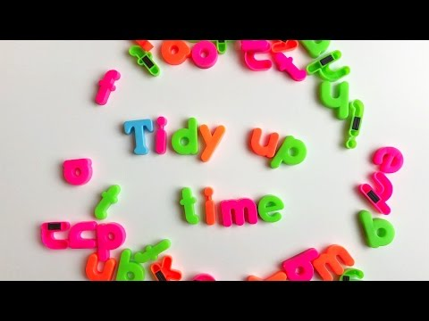 Tidy up time! song