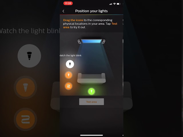 Open The Philips Hue App And Tap On The Settings Gear At The Bottom Right  Of The App.