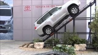 Prueba de ascenso Toyota LC Prado 150