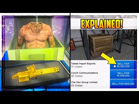 GTA 5 'CEO CRATE SELLING' EXPLAINED! Special Cargo, How Much Money You Get & MORE!