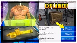 GTA 5 'CEO CRATE SELLING' EXPLAINED! Special Cargo, How Much Money You Get & MORE!(GTA 5 'CEO CRATE SELLING' EXPLAINED! SPECIAL CARGO, HOW MUCH MONEY YOU GET & MORE! ▷Subscribe: http://bit.ly/Sub2DatSaintsfan ▷Cheap ..., 2016-06-08T22:19:26.000Z)