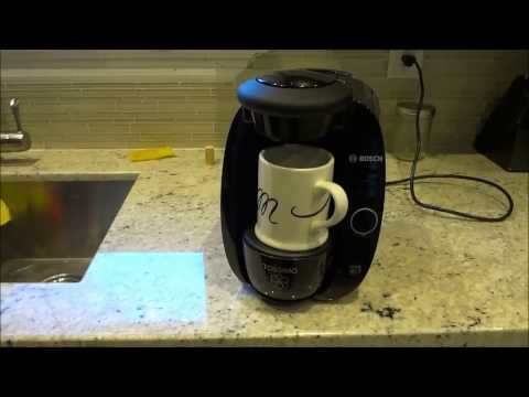 how to clean descale bosch tassimo coffee maker and g doovi. Black Bedroom Furniture Sets. Home Design Ideas