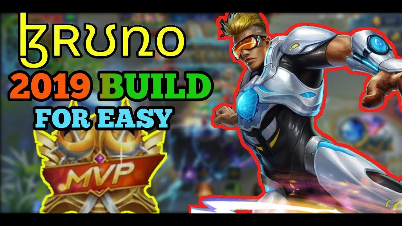 BRUNO 2019 MVP BUILD | BRUNO BEST BUILD | MOBILE LEGENDS