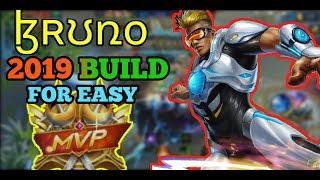 BRUNO 2019 MVP BUILD | BRUNO BEST BUILD | MOBILE LEGENDS