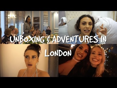 UNBOXING & ADVENTURES IN LONDON