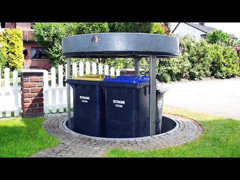 THIS IS AMAZING HIDDEN TRANSFORMING TRASH CAN