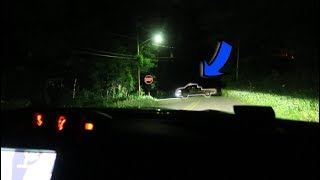 chased by the ghost trucks on clinton road... (phantom trucks tried to trap us)