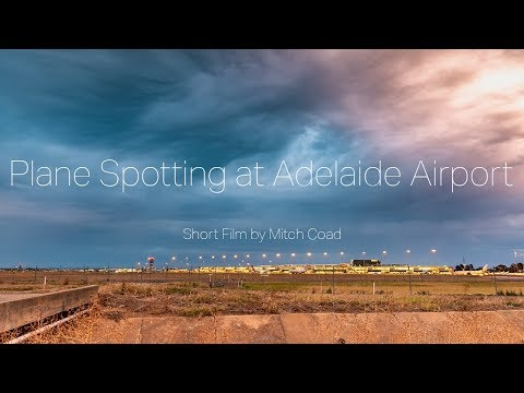 Plane Spotting At Adelaide Airport