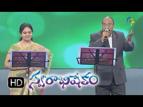 Pachha Bottu Cherigi Song - Mitra, Gopikaa Purnima Performance in ETV Swarabhishekam - 8th Nov 2015