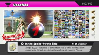 Super Smash Bros. for WiiU - Todos los desafíos y su recompensa