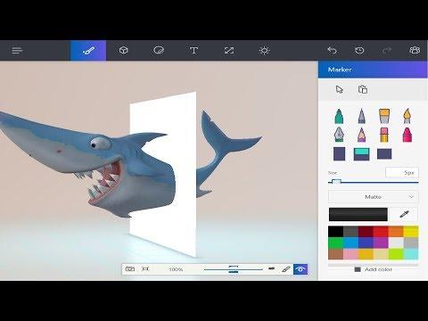 Paint 3D - самая лучшая БЕСПЛАТНАЯ программа от Microsoft !
