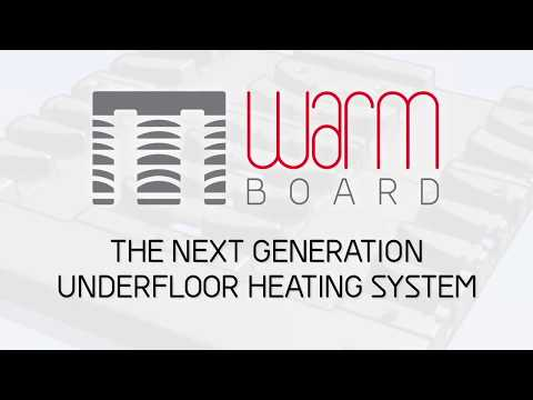 The Benefits of a Solfex Warmboard Underfloor Heating System