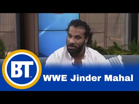 Superstar Jinder Mahal fights tonight at WWE Smackdown!