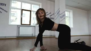 Strip dance by Katya Go / Егор Крид-Зажигалки / DANCE-CITY