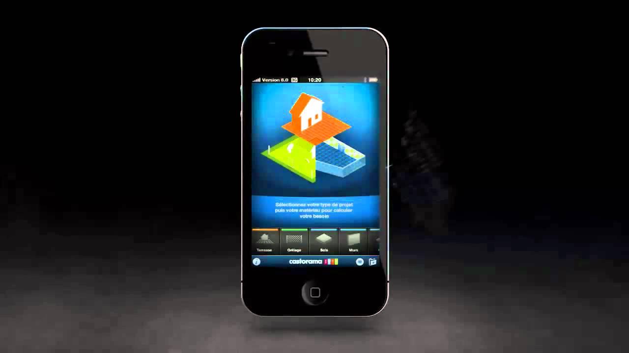Application iphone castorama youtube for Application castorama