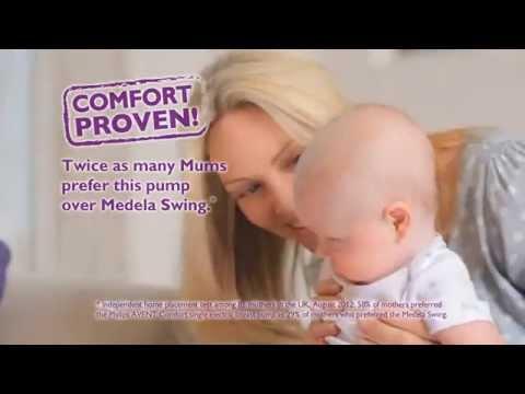 Alvorlig Enkel elektrisk brystpumpe - Philips AVENT Comfort SCF332 - YouTube SC-54