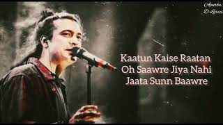 Raataan Lambiyan ( Lyrics ) | Jubin Nautiyal, Asees Kaur | Tanishk Bagchi | Shershaah