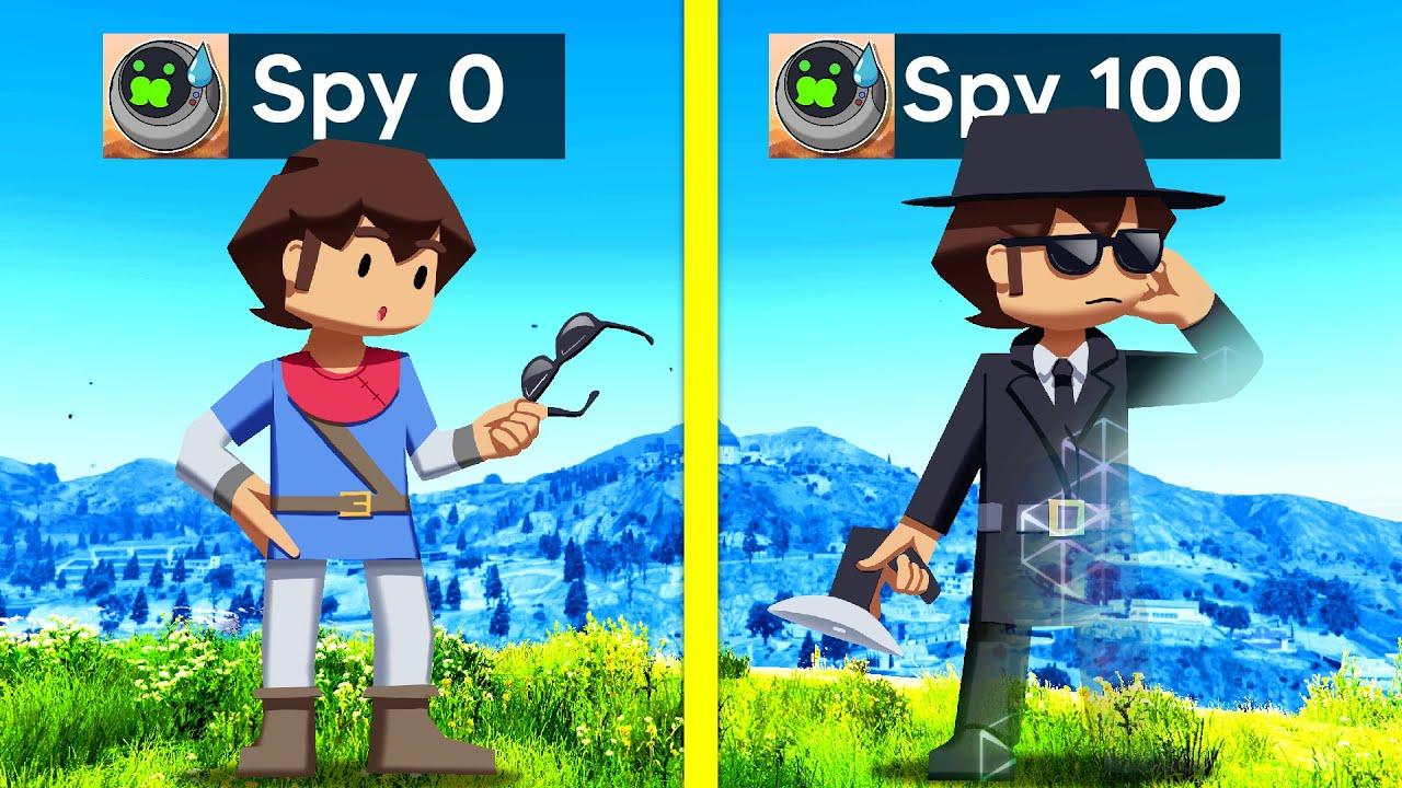 Upgrading Into MASTER SPY In GTA 5!