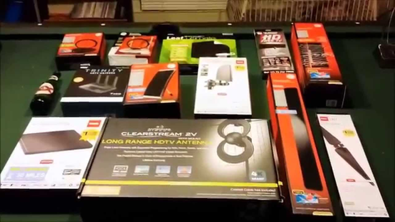 12 Indoor Hdtv Antennas Reviewed Youtube