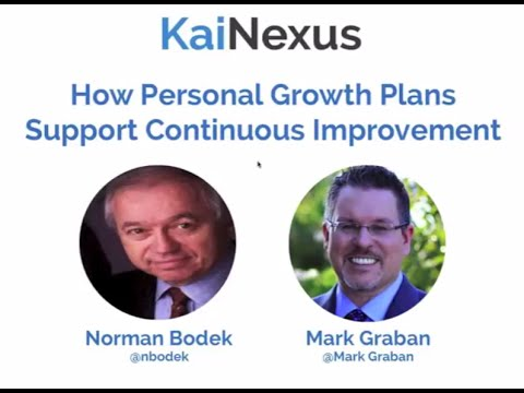 How Personal Growth Plans Support Continuous Improvement