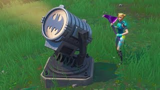Fortnite 'Light Up Different Bat Signals Outside Gotham City' ALL 3 LOCATIONS!