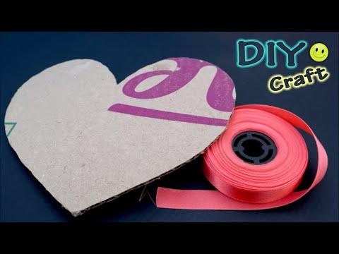 DIY Heart Shaped Home Decor Showpiece    Home Decoration Ideas    How to Make Heart Showpiece