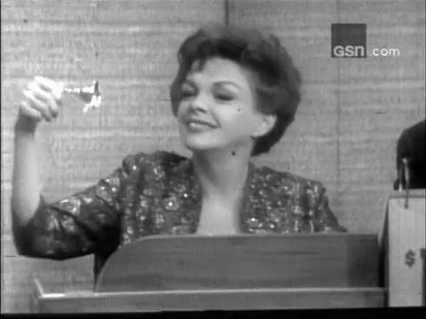 What's My Line? - Jacqueline Susann; Judy Garland; PANEL: Tony Randall, Sue Oakland (Mar 5, 1967)