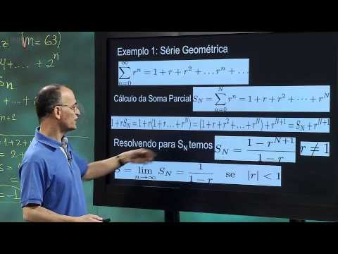 Cálculo I - Aula 9 - Somas e Séries Numéricas