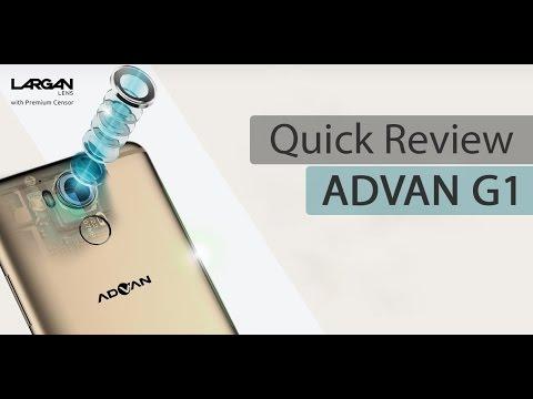 Quick Review Advan G1 - Bahasa Indonesia