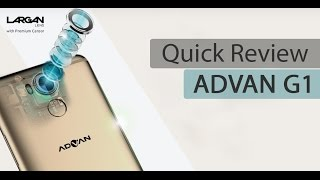 Quick Review Advan G1 - Bahasa Indonesia
