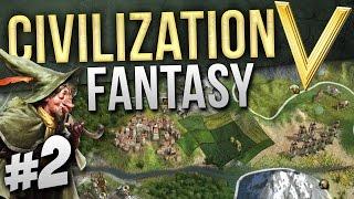 {2} Civilization V Fantasy! (Halflings) Death to the camps!