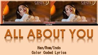 Taeyeon - All About You (OST. Hotel Del Luna Part 3) Lyrics Sub Indo