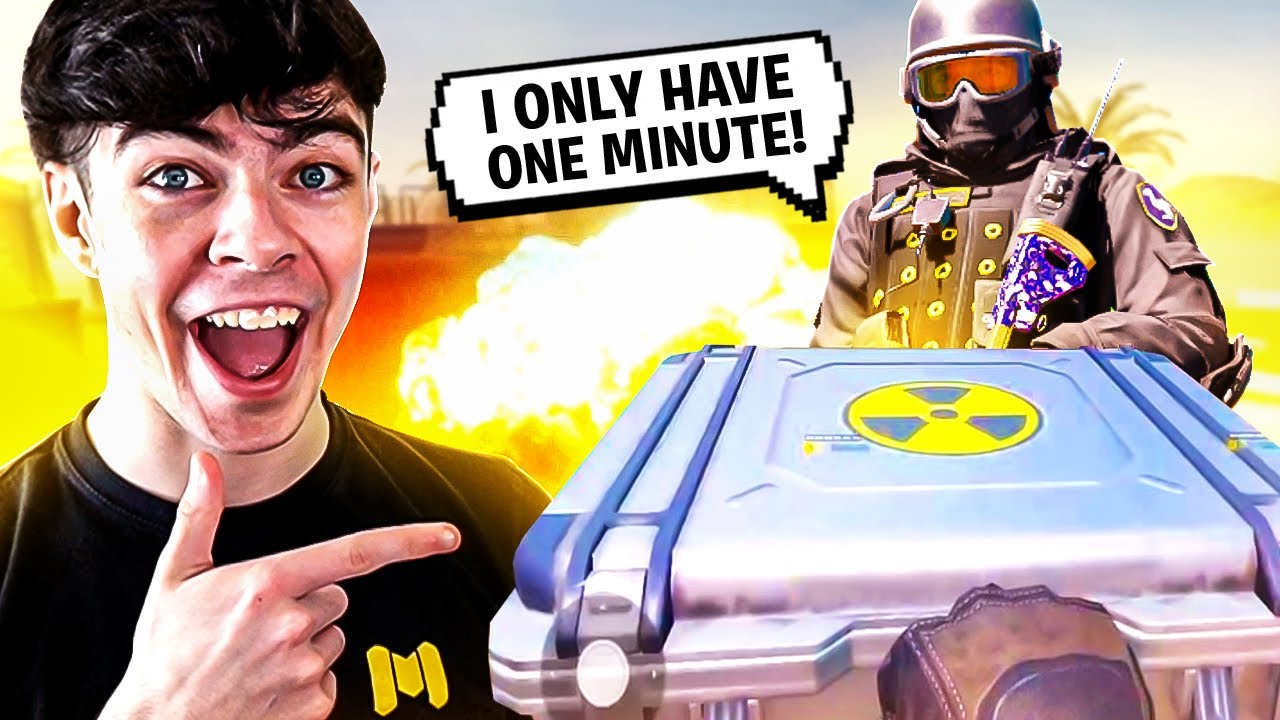 I GAVE A SUBSCRIBER 1 HOUR TO DO THE IMPOSSIBLE CHALLENGE in COD Mobile...