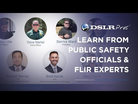 Thermal Drones For Police And Fire Fighting Applications: Webinar