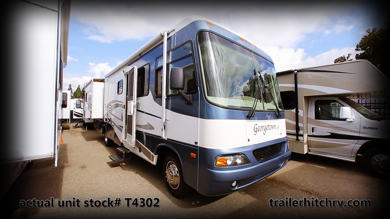 Used 2005 Forest River Geor own XL Class A Motorhome Stock T5032